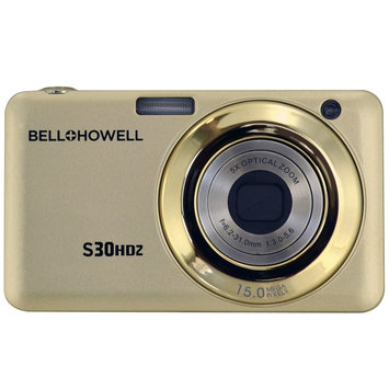 Elite Brands Inc. Bell+howell 15MP Digital Camera w/5x Optical Zoom & HD Video (Champagne)