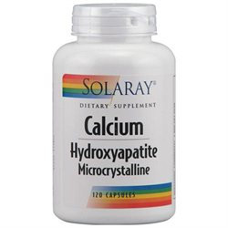 Solaray - Calcium Hydroxyapatite 1000 mg. - 120 Capsules