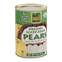 Native Forest Organic Sliced Asian Pears