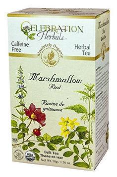 Celebration Herbals Organic Marshmallow Root Bulk Tea Caffeine Free 2.11 oz