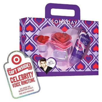 Women's Justin Bieber Someday 3 Piece Eau de Parfume Gift Set Plus
