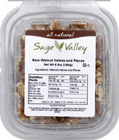 Sage Valley Usa. Nut Wlnt Cmbo Hvs Pcs Raw -Pack of 6