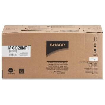 Sharp MX-B20NT1 Toner Cartridge - Black - Laser - 8200 Page - OEM