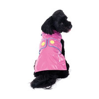 Ethical Fashion-seasonal Ethical Pet Savvy Slicker, Pink, Small
