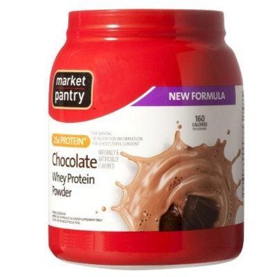 market pantry Market Pantry Chocolate Whey Protein Powder - 32 oz