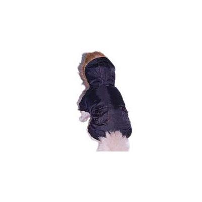 Anima Black Dog Bomber Jacket, Small ()