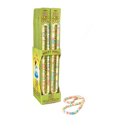 Ddi Sour Candy Necklace 60Gr Cd
