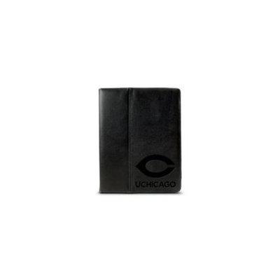 CENTON Centon Electronics IPADC. FE-UOC University of Chicago Custom Logo Embossed Leather iPad Sleeve Black iPad 2 - iPad 3