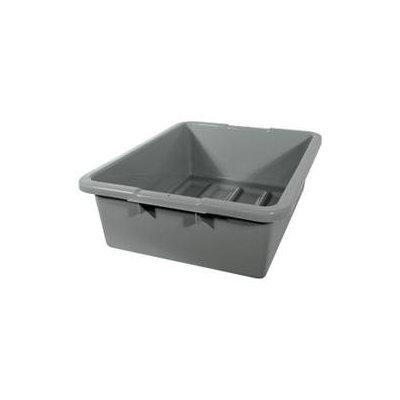 Rubbermaid Fg335100gray Utility Tote Box,7.6 gal, gray 5m671