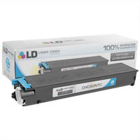LD Compatible Replacement for Sharp DX-C40NTC Cyan Laser Toner Cartridge for use in Sharp DX-C310, DX-C310FX, DX-C311, DX-C311FX, DX-C400, DX-C400FX, DX-C401, and DX-C401FX Printers