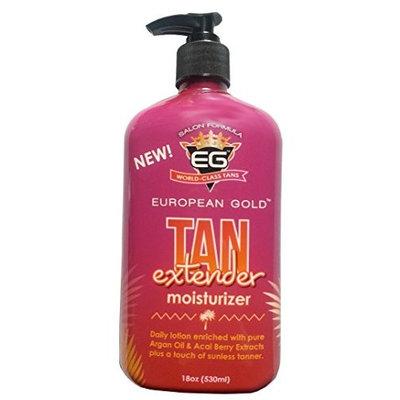 European Gold Tan Extender Moisturizer, 18 Oz