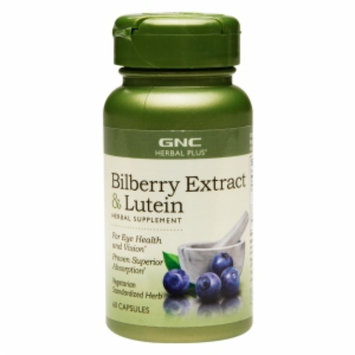 Gnc GNC Herbal Plus Bilberry Extract & Lutein, Capsules, 60 ea