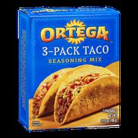 Ortega 3-Pack Taco Seasoning Mix