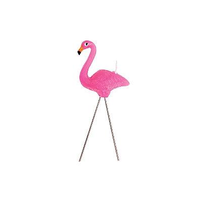 Sunnylife Pink Flamingo Candles, Set of 5