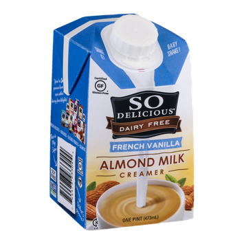 So Delicious Dairy Free Almond Milk Creamer French Vanilla