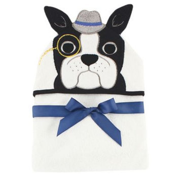 Hudson Baby Dapper Dog Animal Hooded Towel - Infant