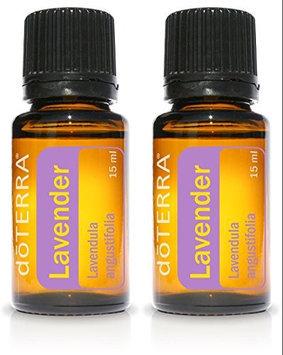 doTERRA Lavender Essential Oil 15 ml (2 pack)