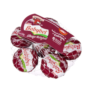The Laughing Cow Mini Babybel® Semisoft Cheeses 6 ct