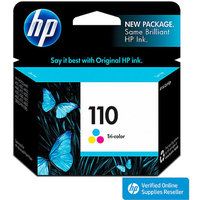HP 110 Tri-color Inkjet Cartridge (CB304AN)