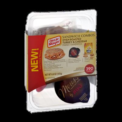 Oscar Mayer Oven Roasted Turkey & Cheddar Sandwich Combos