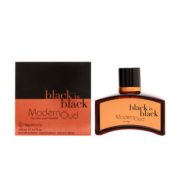 Black is Black Modern Oud by Nuparfums for Men - 3.4 oz EDT Spray