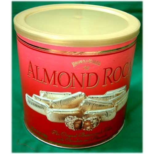 Almond Roca BUttercrunch Toffee Almond Roca 42oz Canister