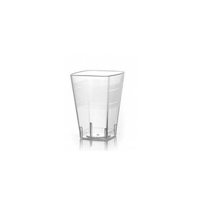 Fineline Settings 1110 Wavetrends 10 oz Clear Tumblers