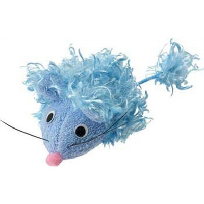 Ethical Curly Plush Mouse with Catnip Cat Toy