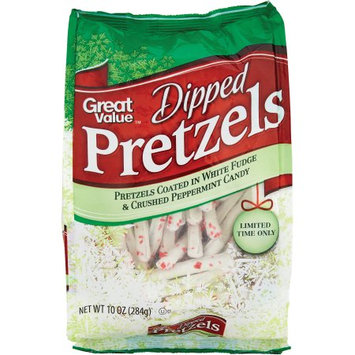 Great Value Dipped Peppermint Pretzels 12oz