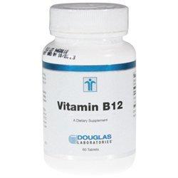 Vitamin B-12 - Douglas Laboratories - 60 Tablets - B-12 - vitamin b12