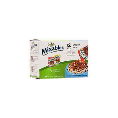 Mixables Variety Packs for Small to Medium Dogs, Pack of 12