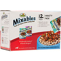 Mixables Variety Packs for Small to Medium Dogs, Pack of 12, Colorado Cookout and Greek Banquet