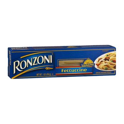 Ronzoni Enriched Macaroni Product Fettuccine