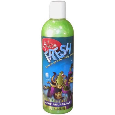 Durvet Aloe Advantage Fresh Lemongrass Body Wash, 32-Ounce