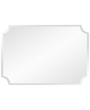 Howard Elliott Mirror. 36 in. x 24 in. Rectangle Frameless Mirror 36008