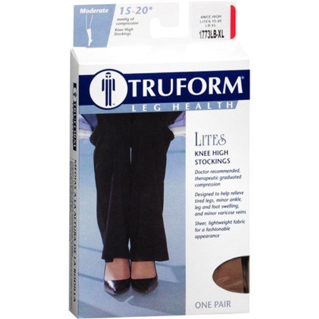 Truform Lites Knee Hi Beige