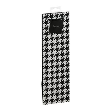 True Houndstooth Wine Bag