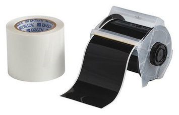 TOUGHSTRIPE 142160 Floor Marking Tape, Roll,4In W,100 ft. L