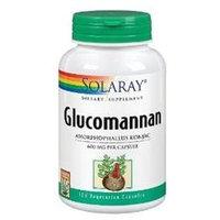 Solaray Glucomannan 600MG - 100 Veggie Caps - Glucomannan