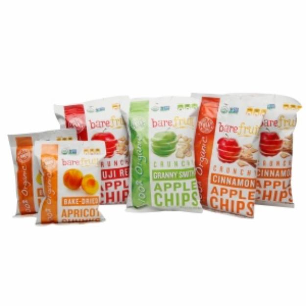 Bare Fruit Bag Combo Organic Apple Chips, Assorted, 6 ea