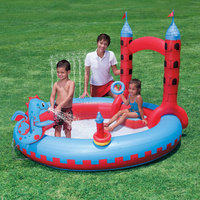 Splash & Play Interactive Castle Inflatable Play Pool NT5010