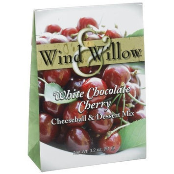 Wind & Willow White Chocolate Cherry Cheeseball, 3.2-Ounce Boxes (Pack of 6)