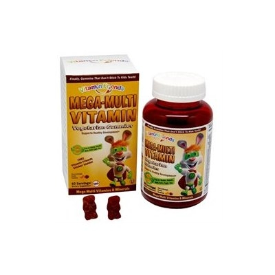 tural Burst Vitamin Friends GuMulti - MegaMulti Vitamin, Minerals Kosher Pectin Gummies