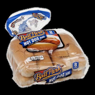 Ball Park Hot Dog Buns - 8 CT