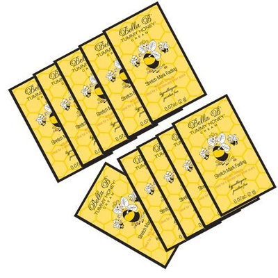 Bella B Tummy Honey Cream Travel Packet 10 Pack