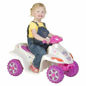 Pacific Cycle Kid Trax Melody Girl's Quad 6V