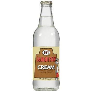 DG Cream Flavored Soda, 12 oz
