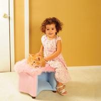 Fantasy Furniture Cat Silhouette Faux Pet Bed
