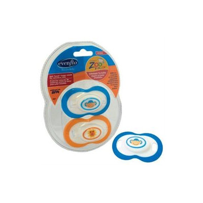 Evenflo Zoo Friends Pacifier - 6+ months - 2 Pack
