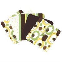 Trend Lab Giggles Five Piece Terry Wash Cloth Set